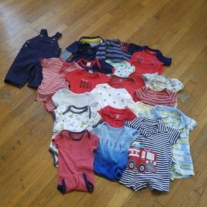 Other - Baby Boys 6-9 Month Lot. 21 Pieces!